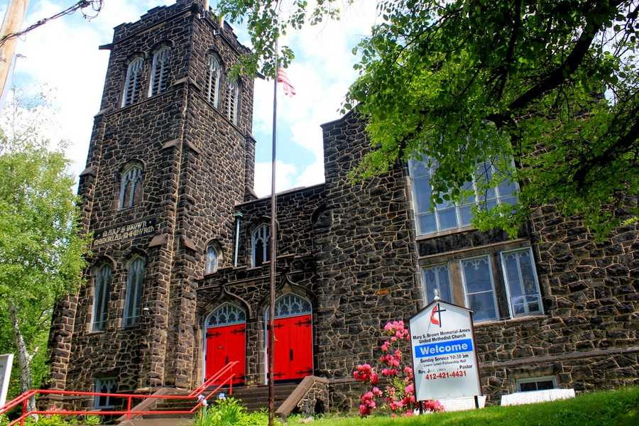 The church retains its historic character 100 years later. Services are still held in the building each Sunday.