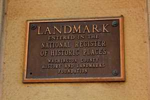 It was listed on the National Register of Historic Places in July 1974.  It is designated as a historic public landmark by the Washington County History & Landmarks Foundation