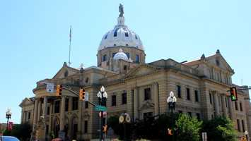 Washington is home to many historical structures but the courthouse, located on Main Street in the heart of the city, is the most visible of them.
