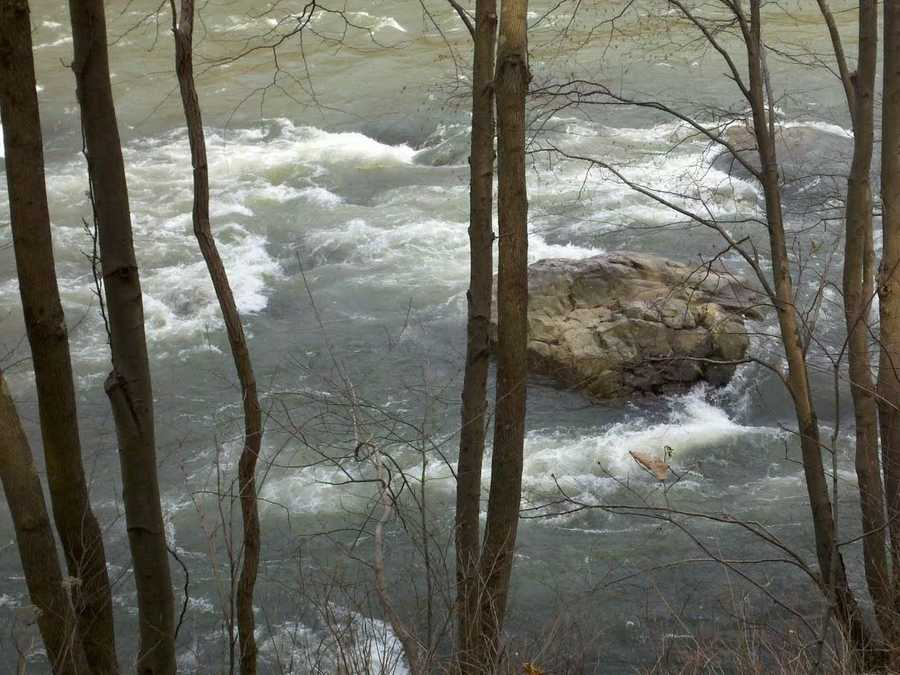 Passing through the heart of the park, the rushing waters of the Youghiogheny River Gorge are the centerpiece for Ohiopyle.