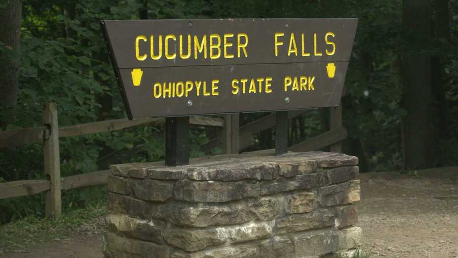 Cucumber Falls is one of the picturesque areas in Western Pennsylvania.