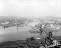 This archive photo shows what the Point looked like sometime between the years of 1910 - 1920.