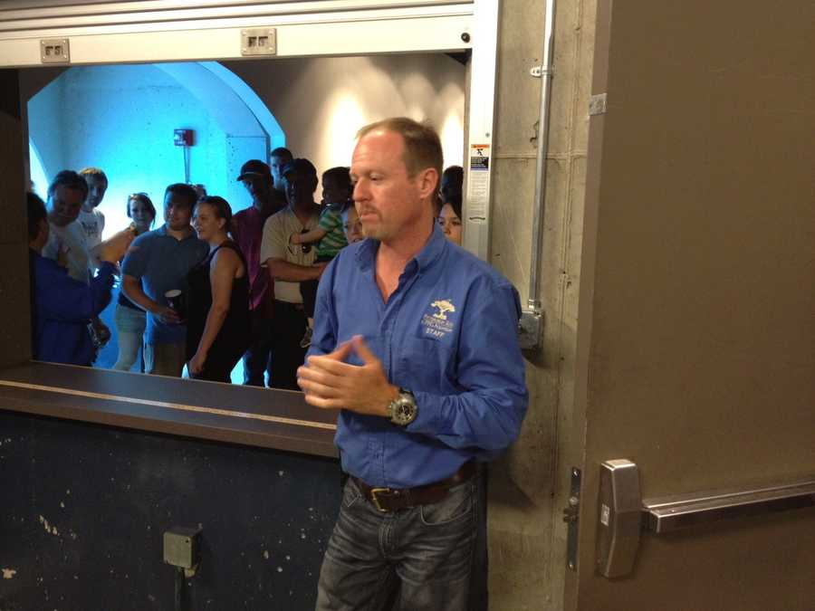 Dwayne Biggs, curator of acquatic life at the Pittsburgh Zoo & PPG Aquarium