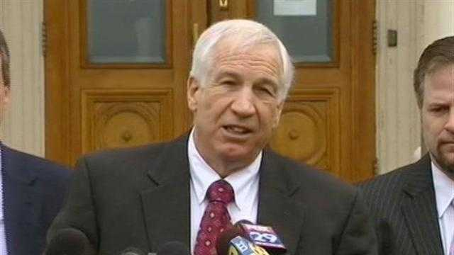 RAW Video: Sandusky Speaks