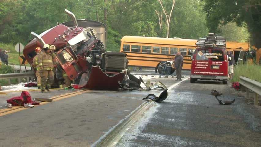 Crews are at the scene of a tractor-trailer/school bus crash along Route 18 in North Beaver Township, Lawrence County. Read more about the story.
