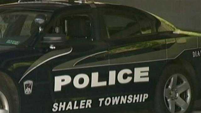 Shaler Township police car
