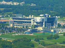 Beaver Stadium, where Penn State plays its home football games.