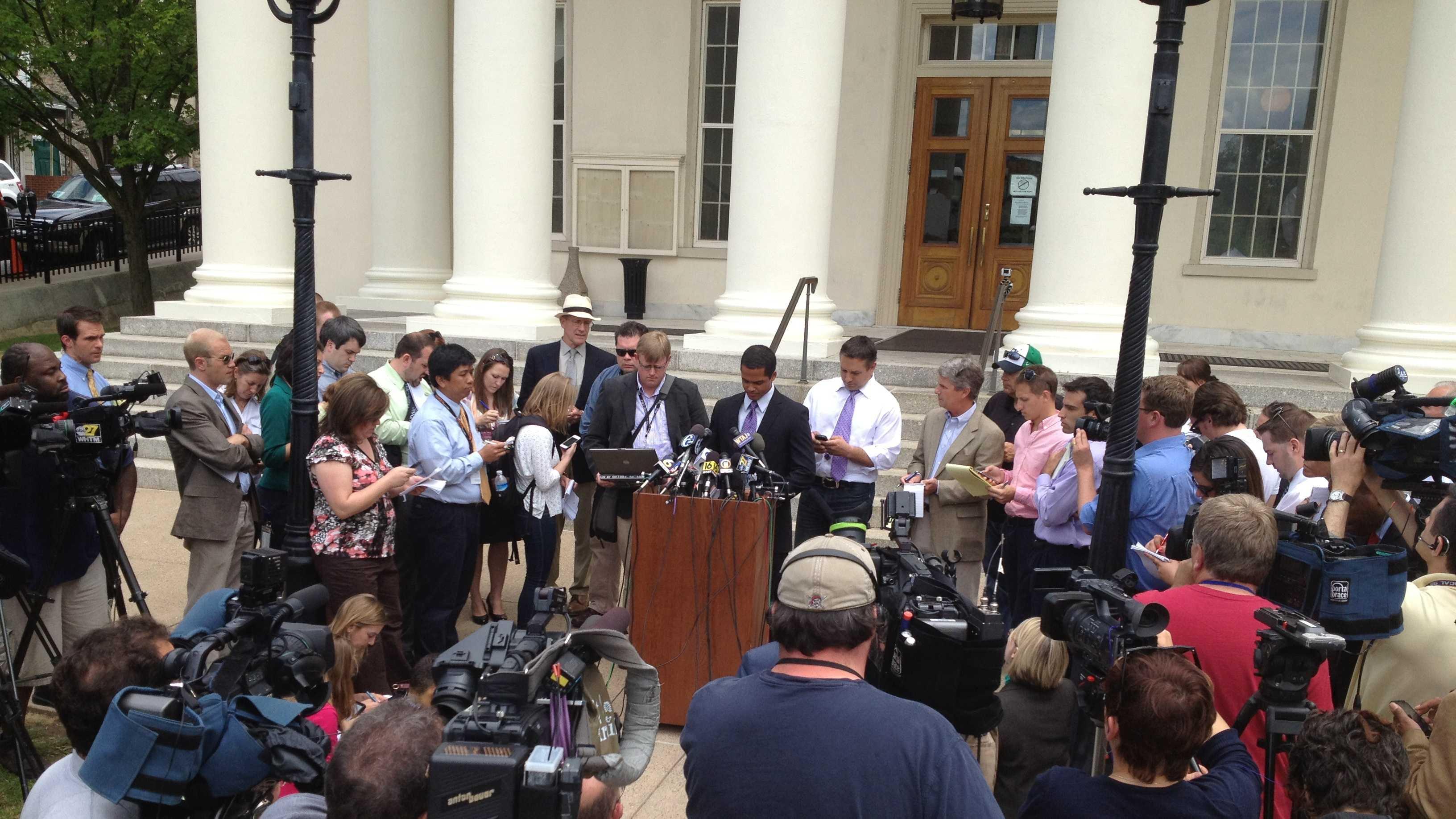 Media update on jury selection
