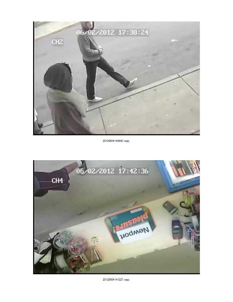 McKees Rocks robbery - surveillance image
