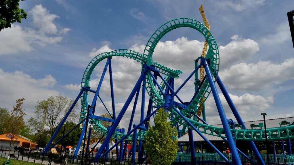 Dorney Park: Guests must be at least 21 years of age to purchase, possess or consume alcoholic beverages. Alcoholic beveragesmust be fully consumedor discarded on the premise where served. Alcoholic beverages are not permitted on the midways or while in line for any ride.