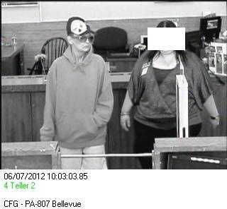 Citizens Bank surveillance video