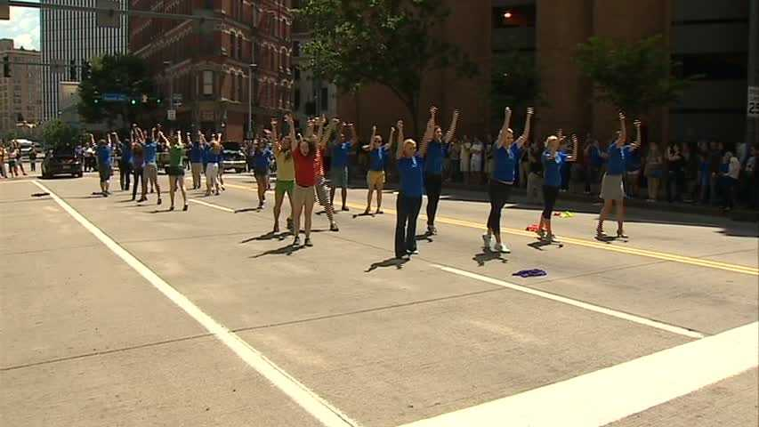 Pittsburgh Pride flash mob