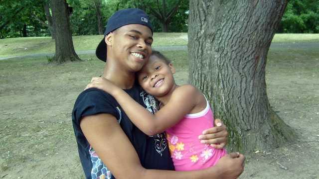 Brandon Fuller and his sister