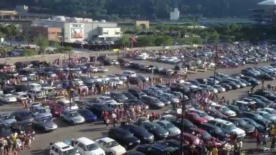 North Shore parking lots