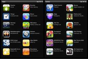Apps for smartphones vary significantly in size. The most common ones average between 6 - 12 MB in size.