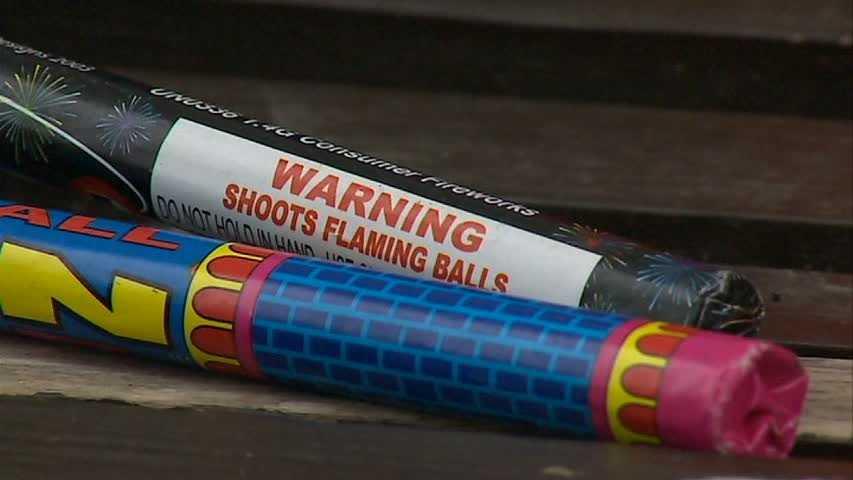 Fireworks tubes
