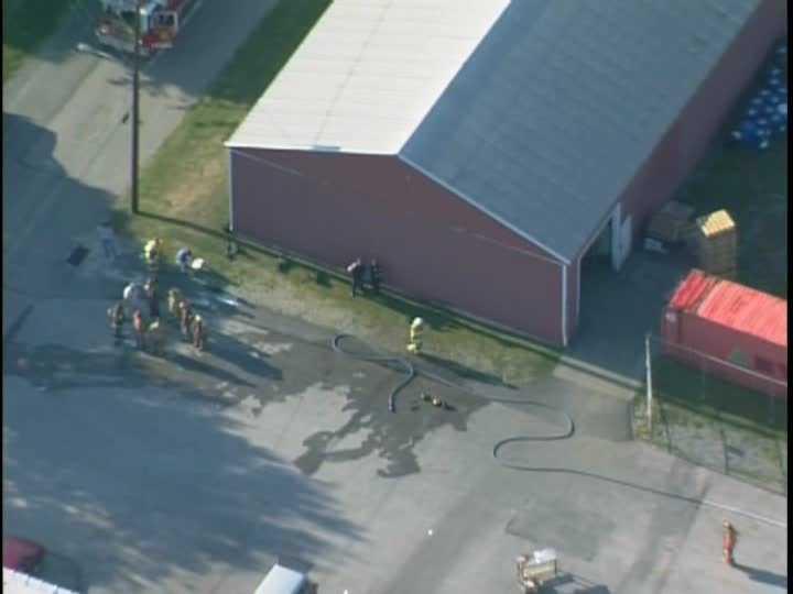 A one block radius around the plant was evacuated as a precaution.