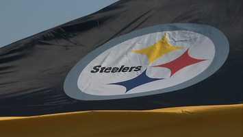 Steelers tent