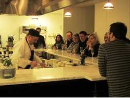 Complimentary Chef's Table – Culinary Experience for 8 - a 2-3 hour cooking and eating experience.