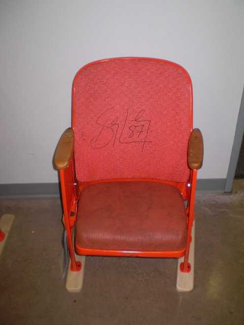 We have 2 Mellon Area Chairs - One signed by Sid and One signed by Geno. Click here to preview all auction items.