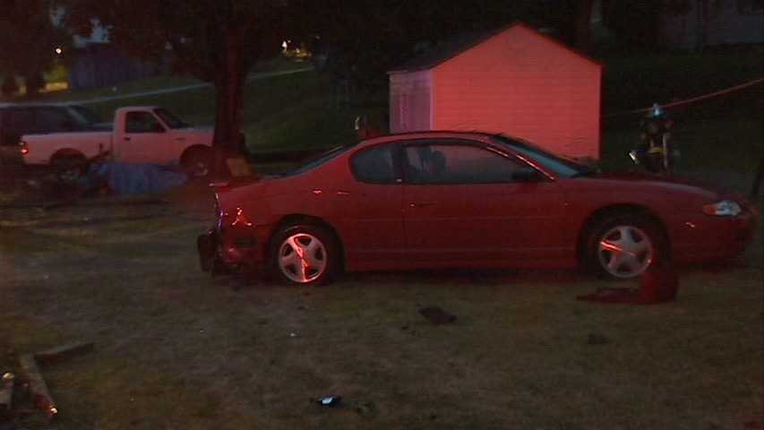 The initial investigation indicates Washington's vehicle crossed the center line, went off the north berm of the roadway, and into a yard striking a fence and parked vehicle.