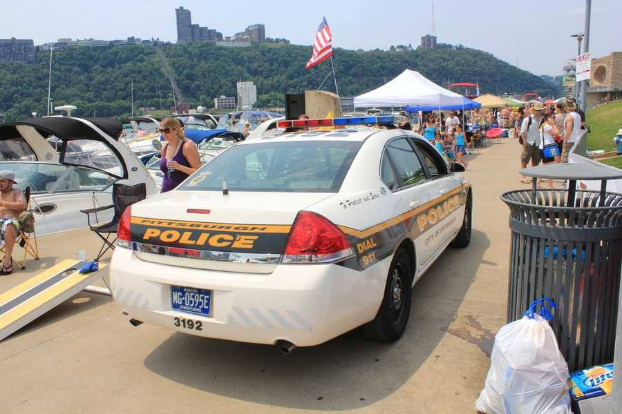 Thousands of tailgaters came by foot, by car and by boat to attend the 2011 Kenny Chesney Concert at Heinz Field.