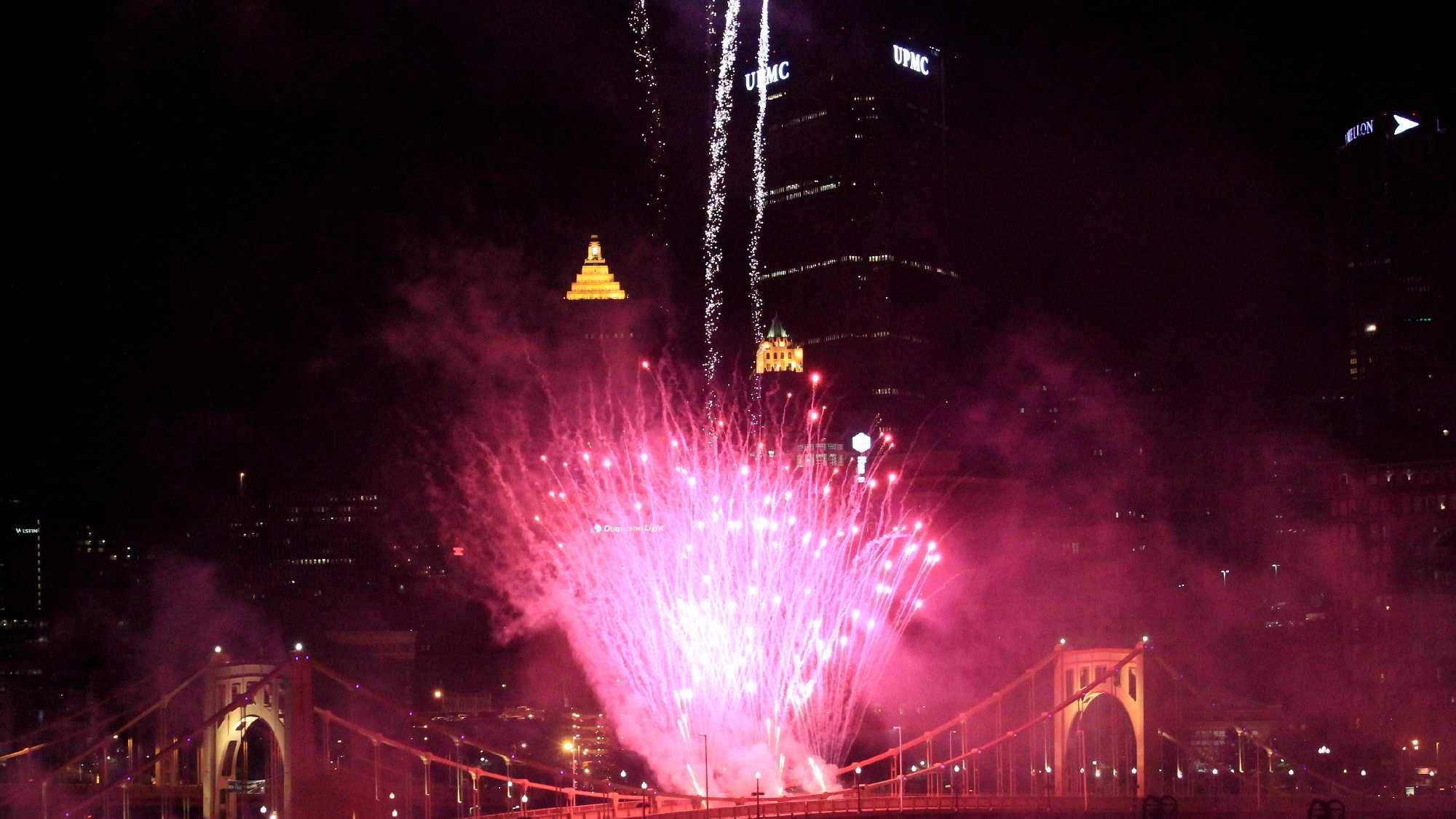 Fireworks on Bridge.JPG