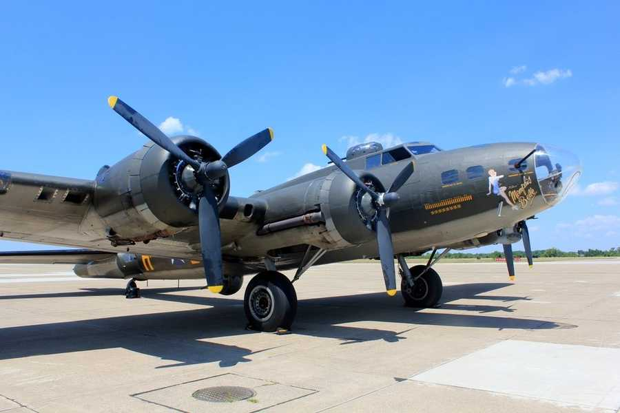 "The restored World War II B-17 Flying Fortress ""Memphis Belle"" will be flying over the Pittsburgh area this weekend.  (CLICK HERE to watch video of the takeoff from the cockpit!)"