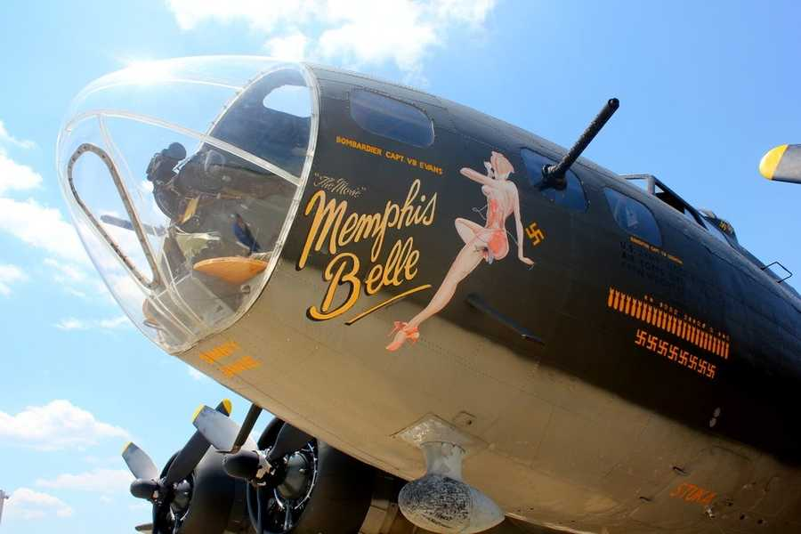 "The ""Memphis Belle"" is one of only 13 B-17s that still fly today."