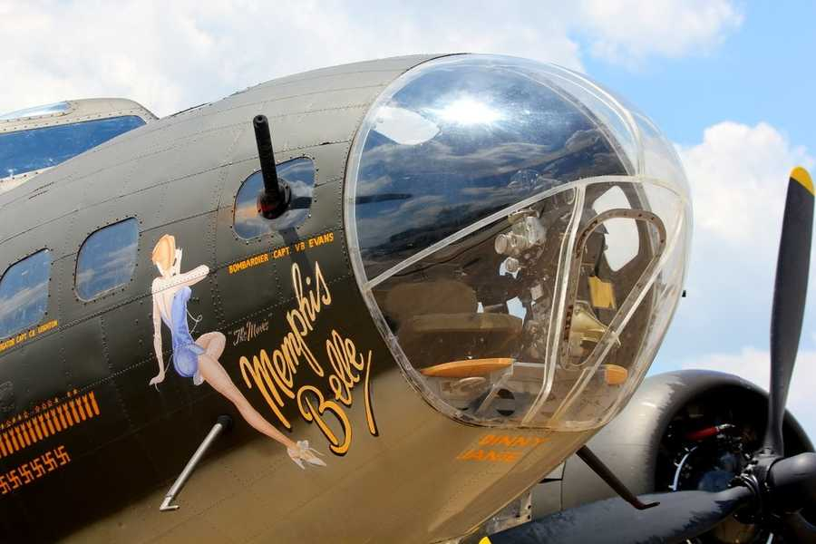 The bomber was also used in the filming of the Memphis Belle movie in England in July 1989.