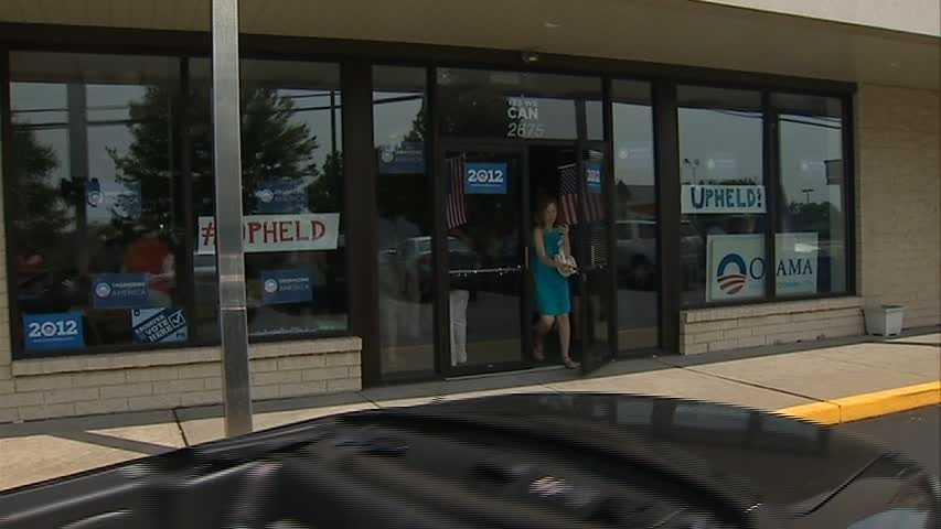 President Barack Obama's campaign office on Monroeville Boulevard
