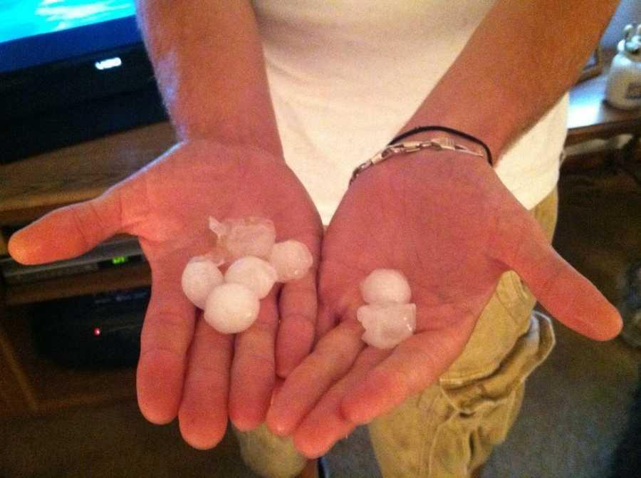 Trafford hail