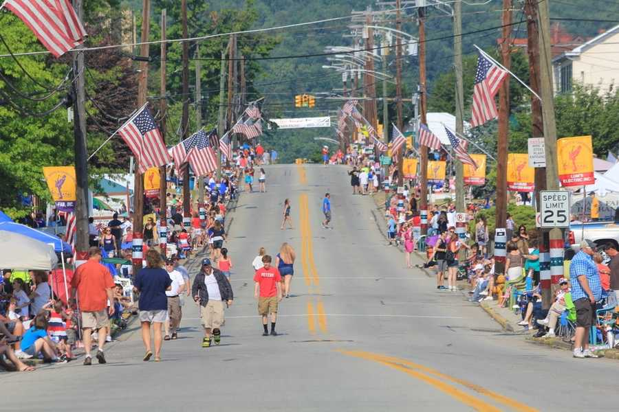 The Canonsburg parade is the second-largest parade in Pennsylvania!