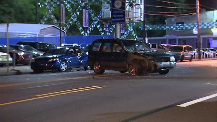 It happened on West Liberty Avenue, near the intersection with Brookline Boulevard and Wenzell Avenue.
