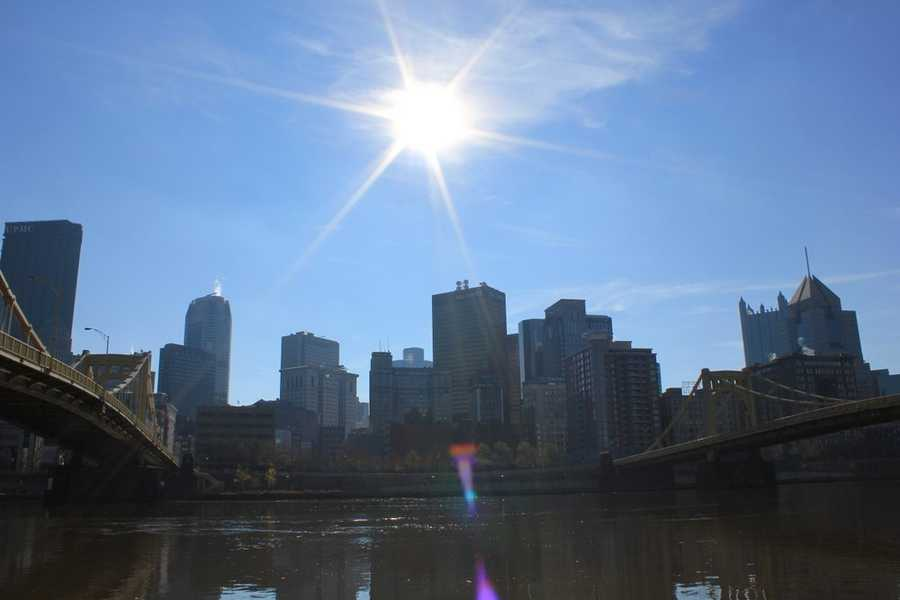 One of the most intense heat waves hit the city of Pittsburgh in mid-July back in 1936. The high temperatures from July 8 - 15 hit 95, 101, 101, 94, 98, 93, 102, and 91.