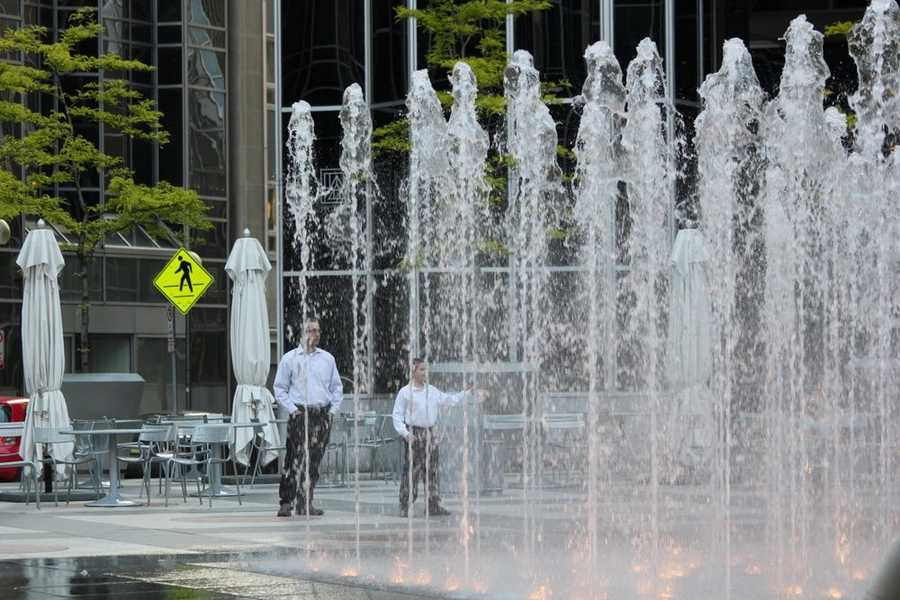 Imagine how difficult it was for folks back then to stay cool with no air conditioning and no cool features like the North Shore water steps or the PPG Place fountains.