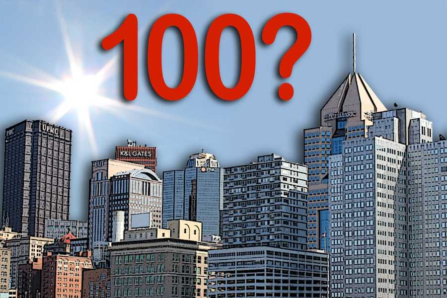 The last time Pittsburgh hit 100 degrees was July 15, 1995. The high temperature reached 100 degrees that day.