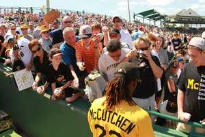 One of McCutchen's hobbies during free time is making music 'beats' on his computer.
