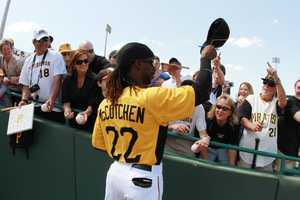 McCutchen said he wouldn't cut his dreadlocks for a million dollars, but WOULD cut his hair if it meant bringing a World Series back to Pittsburgh.