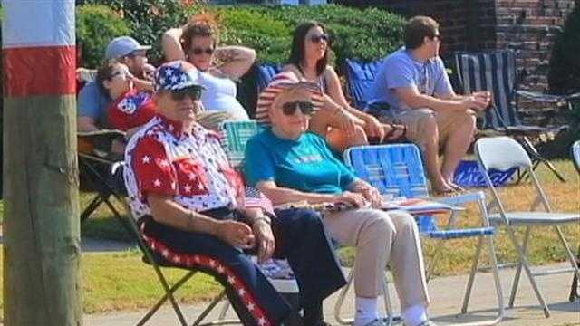 Canonsburg parade watchers