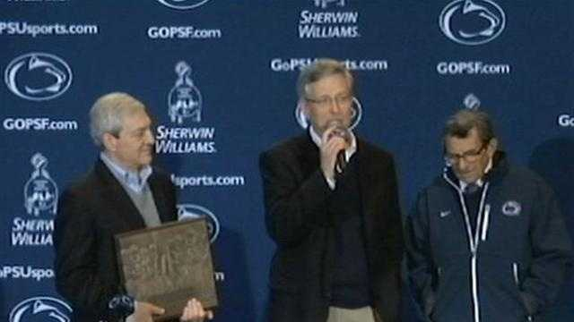 Graham Spanier, Tim Curley and Joe Paterno