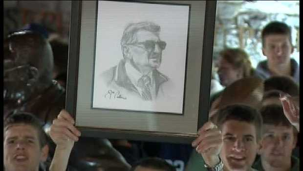 """The knowledge of Paterno in 1998 -- the fact that Sandusky was known to be a grave risk to children for 14 years and nothing was done to stop him -- that is a crying shame. And it's something that will be a stain on Penn State for a long time to come."" - Tom Kline, lawyer for Victim 5 who was assaulted by Sandusky in a football team shower in 2001."