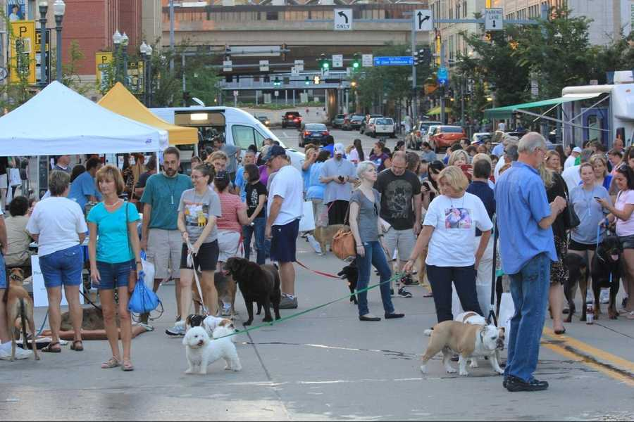 The 2nd Annual Pittsburgh Pup Crawl is being held tonight outside PNC Park.