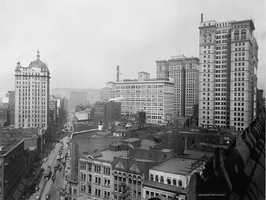 Here's a look along Liberty Avenue circa early 1900s.