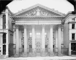 The Bank of Pittsburgh building.