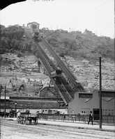 1905 - A look at the Monongahela Incline near what is present-day Station Square.