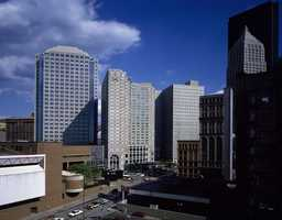 Looking toward the present day Westin Hotel from what is now the David Lawrence Convention Center.