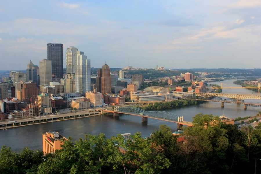 A look at the city from Mount Washington in 2012. Enjoy the current view. Based on the history of our city, it's very likely we will see a different skyline a few years from now.