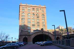 """A look at the building now known as """"The Pennsylvanian"""" in 2012."""