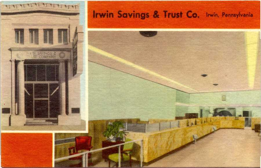 Irwin Savings and Trust Co. on Main Street